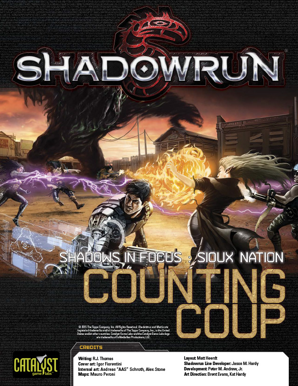 An adventure supplement for Shadowrun.