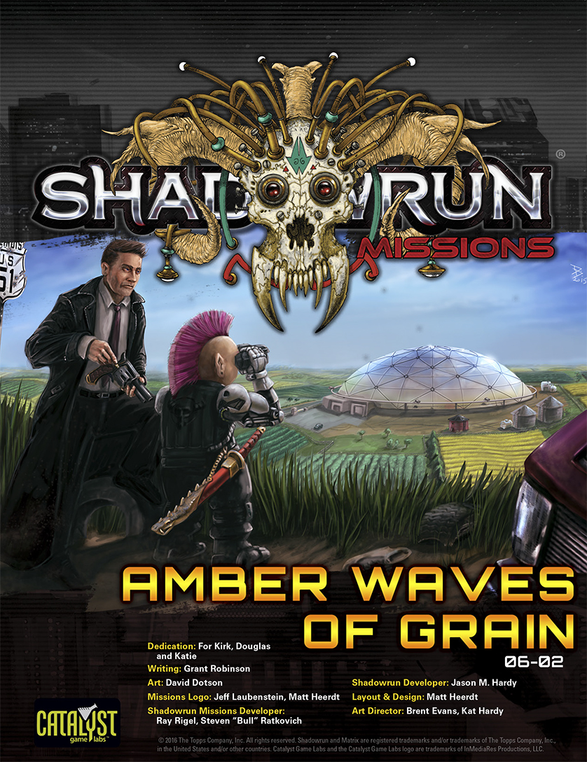 Shadowrun Missions, Season 6, Adventure 2