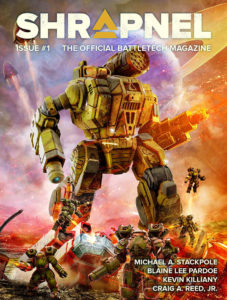 Lancement de Shrapnel, le magazine officiel de BattleTech