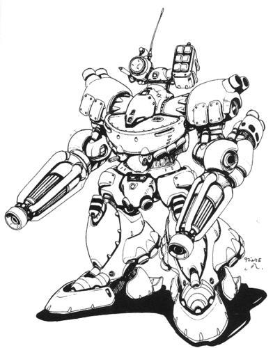 Mech Warhammer