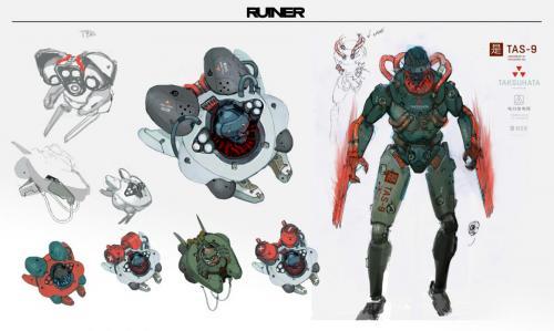 RUINER - Enemies (3)